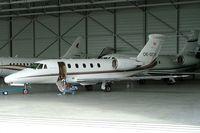 OE-GCH @ LOWW - Cessna Citation VII [650-7006] Vienna-Schwechat~OE 13/09/2007