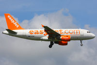 G-EZAW @ EGSS - easyJet - by Chris Hall