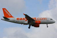 G-EZFJ @ EGSS - easyJet - by Chris Hall