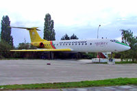 OK-AFB @ LZPP - Tupolev Tu-134A [1351410] (Air Snack-Bar Gemer) Piestany~OM 11/09/2007.Displayed in car park outside airfield and used as a snack bar.
