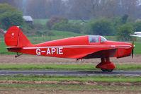 G-APIE @ EGCV - at the Vintage Aircraft flyin - by Chris Hall