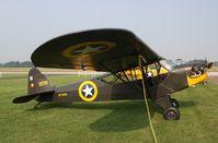 N7744B @ KOWB - Piper J3C-65 - by Mark Pasqualino