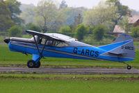 G-ARCS @ EGCV - at the Vintage Aircraft flyin - by Chris Hall