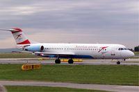 OE-LVE @ LOWW - Fokker F-100 [11499] (Austrian Arrows) Vienna-Schwechat~OE 13/09/2007 - by Ray Barber