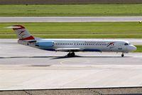 OE-LVB @ LOWW - Fokker F-100 [11502] (Austrian Arrows) Vienna-Schwechat~OE 12/09/2007