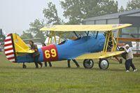 F-AZNF @ LFFQ - At 2013 Airshow at La Ferte Alais , Paris ex Bu02909