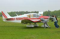 F-BSBM @ LFFQ - At 2013 Airshow at La Ferte Alais , Paris