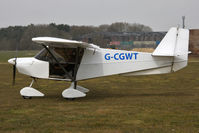 G-CGWT @ EGBR - Skyranger Swift 912(1) at The Real Aeroplane Club's Spring Fly-In, Breighton Airfield, April 2013. - by Malcolm Clarke
