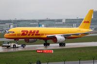 D-ALEG @ EDDF - DHL Boeing 757 - by Thomas Ranner