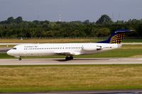 D-AFKC @ EDDL - Fokker F-100 [11496] (Contact Air) Dusseldorf~D 18/06/2011
