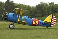 F-AZNF @ LFFQ - At 2013 Airshow at La Ferte Alais , Paris, France