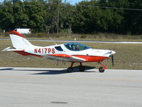N417PS @ X04 - Flew N417PS at First Landings Apopka Florida Great little aircraft. - by E. Durham