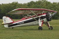 F-AZAK @ LFFQ - At 2013 Airshow at La Ferte Alais , Paris , France