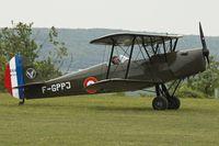 F-GPPJ @ LFFQ - At 2013 Airshow at La Ferte Alais , Paris , France