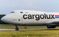 LX-VCC @ ELLX - taxying to the holding point RW24 - by Friedrich Becker