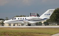 N732M @ ORL - Citation M2 departing NBAA