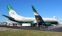 N737WH @ ORL - Former Miami Dolphins BBJ at NBAA