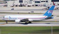 N741AX @ MIA - Amerijet 767-200