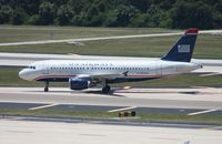 N755US @ TPA - US Airways A319