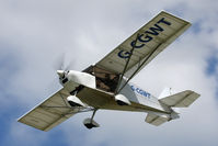G-CGWT @ EGBR - Skyranger Swift 912(1) at The Real Aeroplane Club's Jolly June Jaunt, Breighton Airfield, 2013. - by Malcolm Clarke