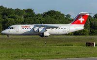 HB-IXV @ ELLX - departure via RW06