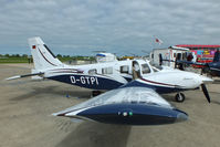 D-GTPI @ EGBK - at AeroExpo 2013 - by Chris Hall