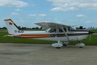 EI-BJO @ EGBK - at AeroExpo 2013 - by Chris Hall