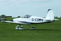 G-CDRV @ EGBK - at AeroExpo 2013 - by Chris Hall