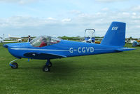 G-CGVD @ EGBK - at AeroExpo 2013 - by Chris Hall