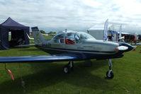 G-LLOY @ EGBK - at AeroExpo 2013 - by Chris Hall