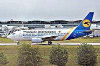 UR-GAK @ LFPG - Boeing 737-5Y0 [26075] (Ukraine International Airlines) Paris-Charles De Gaulle~F 09/07/2006 - by Ray Barber