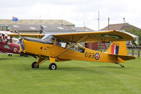 G-BLPG @ EGBR - Auster J-1N Alpha at The Real Aeroplane Club's Jolly June Jaunt, Breighton Airfield, 2013. - by Malcolm Clarke