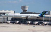 N802WA @ MIA - World Atlantic MD-83