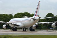 F-RAJB @ LFPG - French AF , 1995 Airbus A340-212, c/n: 081