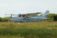 G-OARS @ EGFH - Visiting Millenium Skyhawk SP. - by Roger Winser
