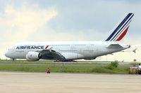F-HPJF @ LFPG - 2010 Airbus A380-861, c/n: 064 at Paris CDG