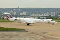 F-GRZM @ LFPG - Bombardier CRJ-700, c/n: 10263 at CDG