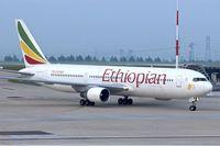 ET-AMQ @ LFPG - Ethiopian 1995 Boeing 767-33A/ER, c/n: 27909/591