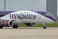 PH-FNS @ LFPG - Flynonstop's 2013 Embraer ERJ 190-200 IGW, c/n: 1900616
