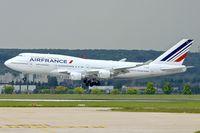 F-GITI @ LFPG - Air France's 2003 Boeing 747-428, c/n: 32869
