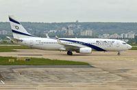 4X-EKI @ LFPG - El Al 1999 Boeing 737-86N, c/n: 28587