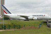 F-HPJC @ LFPG - Air France 2009 Airbus A380-861, c/n: 043