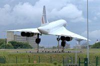 F-BVFF @ LFPG - Preserved Air France 1978 Aerospatiale-BAC Concorde 101, c/n: 15