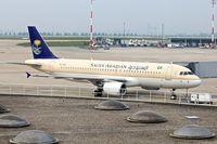 HZ-ASA @ LFPG - 2009 Airbus A320-214, c/n: 4081 at Paris CDG