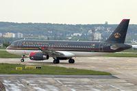 JY-AYW @ LFPG - Royal Jordanian 2012 Airbus A320-232, c/n: 5367