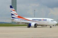 OK-SWT @ LFPG - Smart Wings' 2003 Boeing 737-7Q8, c/n: 29346