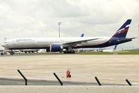 VP-BGC @ LFPG - Aeroflot's 2013 Boeing 777-3M0ER, c/n: 41680