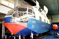 F-ZWWE @ LFPB - Exhibited at The Air & Space Museum at Le Bourget , Paris, France