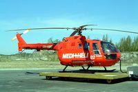 OH-HMB @ EFTU - MBB/Bolkow Bo.105CBS-5 [S-891] Turku~OH 15/05/2003 - by Ray Barber