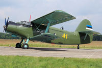 41 @ EHVK - Old lady An-2T 41 on the static of the Volkel Open House 2013 - by Nicpix Aviation Press  Erik op den Dries